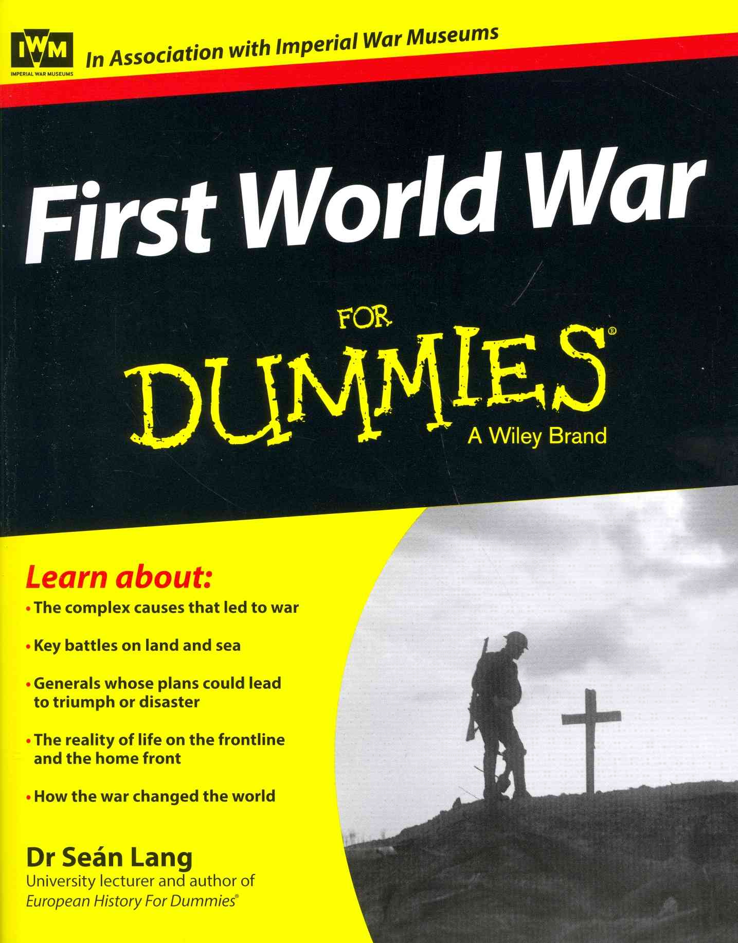First World War for Dummies By Lang, Sean